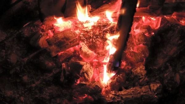 Shamanic Fire Ring Drumming Circle