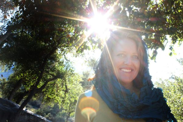 Shamanic Training Sample ClassMara with Sun Star at Flinn Springs