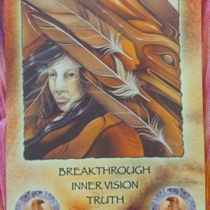 from the Spirit of the Wheel by Linda Ewashina, illustrated by Jody Bergsma - http://www.bergsma.com/spirit-of-the-wheel-meditation-deck-pr-3040.html You Are On Fire! Shamanic Weather August 6, 2015