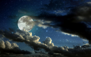 Blue moon full-moon-in-the-starry-sky-photography-hd-wallpaper-1920x1200-9572