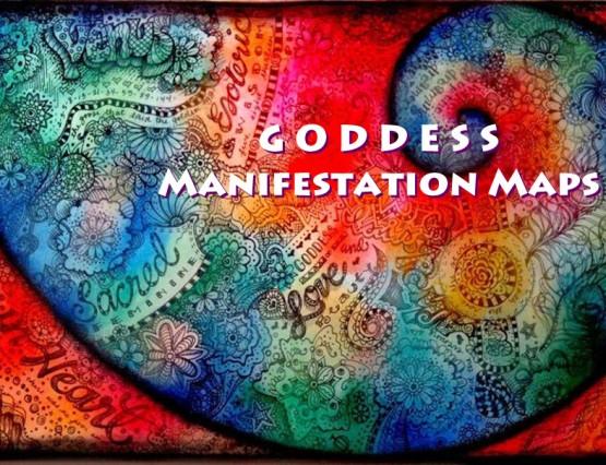 Shamanic Goddess Manifestation Maps