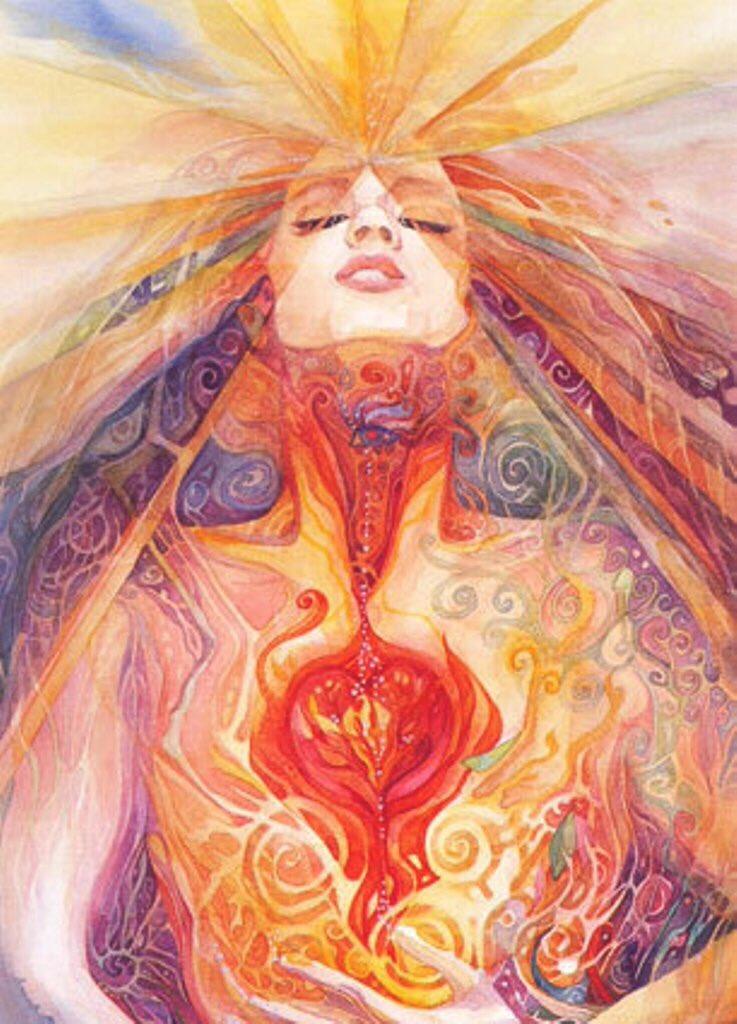 Venus Love Healing Goddess Heart Shadows Revealed, source unknown