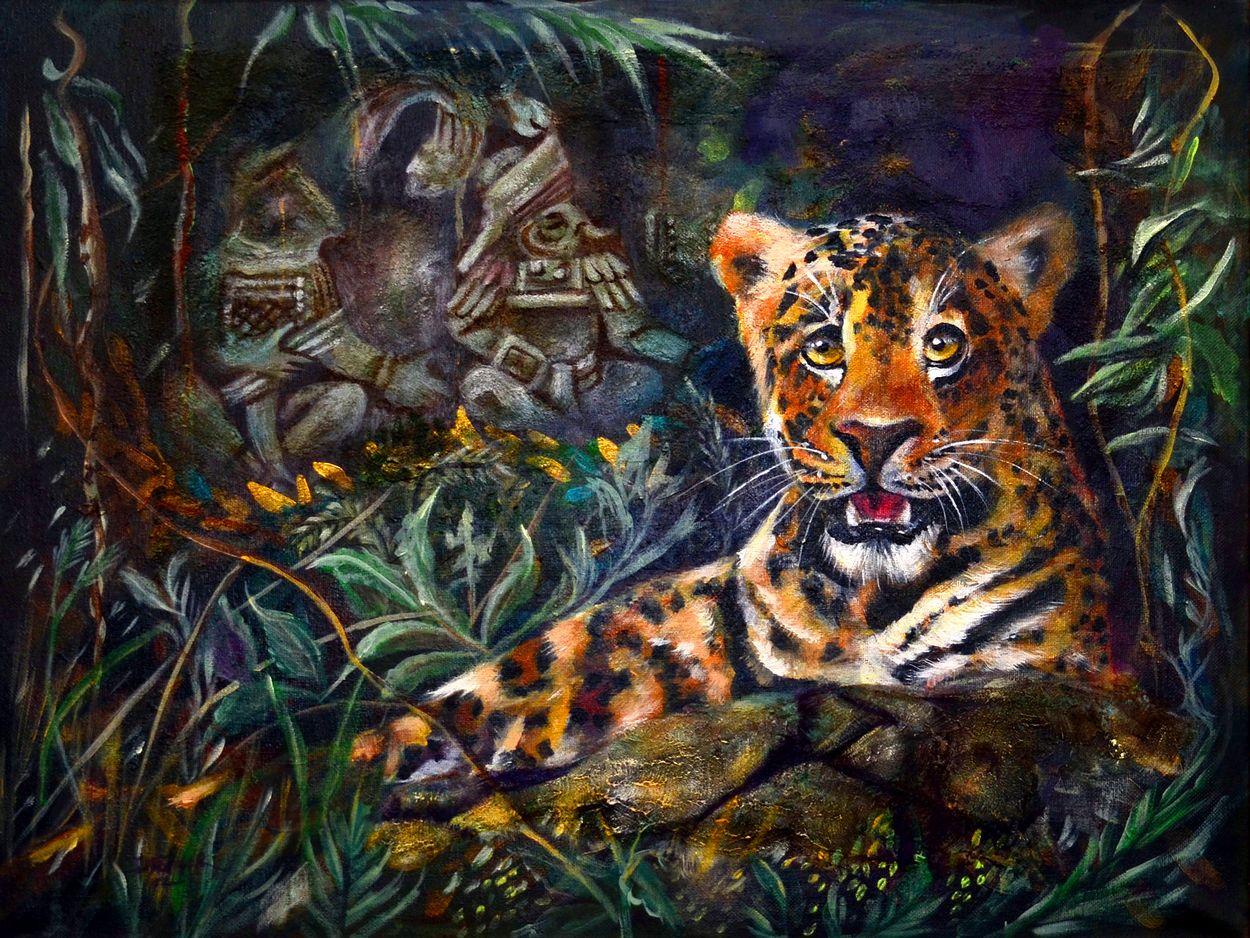 Jaguar Santa Monica >> Jaguar Queen Sacral Chakra Clearing - Mara Clear Spring