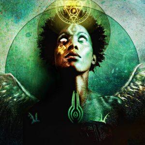 Mercury Retrograde Touch Down - autumn's Goddess by Jena DellaGrotaglia