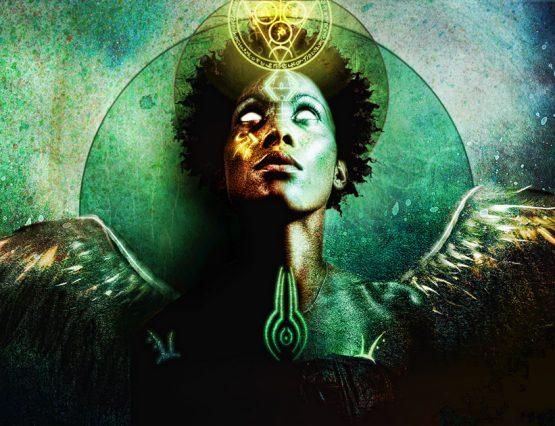 Psychic Faire Mercury Retrograde Touch Down - autumn's Goddess by Jena DellaGrotaglia
