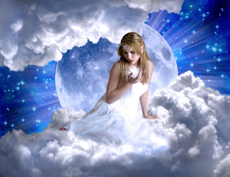 Dream Crystal Moon Song Moon Goddess by Silverayn at DeviantArt