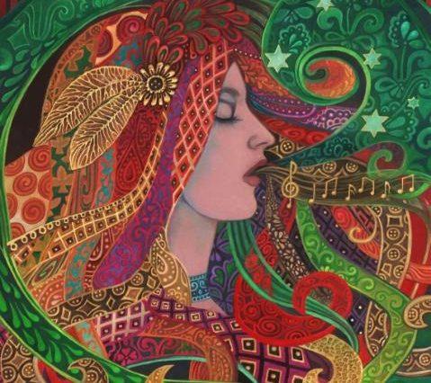 Love Song Dream Work Mezzo Goddess by Emily Balivet