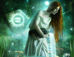 Soul Contemplation Boundary Busting Aquarian Mind Werewolf Duality Effect Aquarius Woman by Enchanted Whispers