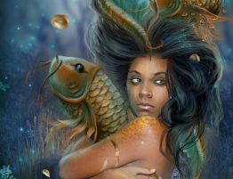 Dangling Dreams Pisces Mermaid by Lampros Kalfuntzos