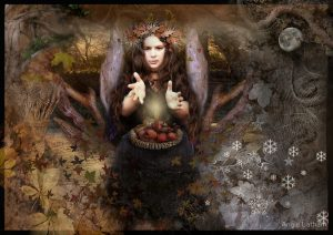 Riches of Mabon Autumn Equinox by Angie Latham