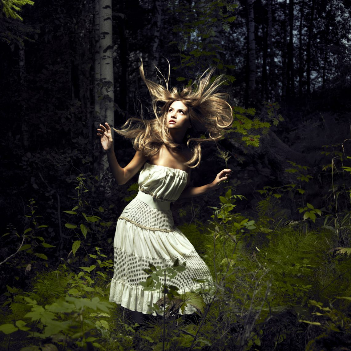 Empath Triage Frightened in the forest