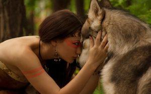 Primal Goddess Wolf