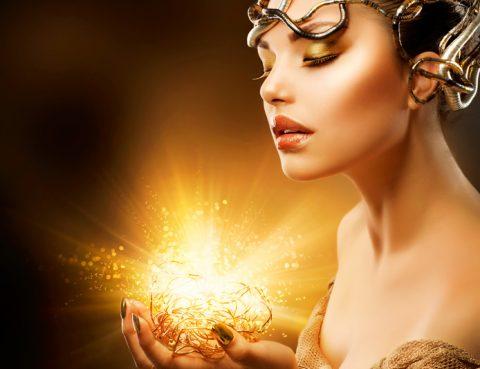 Deep Soul Healing Something Yummy golden goddess