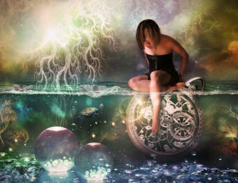 deep stimulation Waking Dream Messages Time Is An Illusion by Coby01