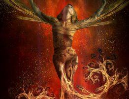 divine feminine turmoil - art by Bojan Jevtic