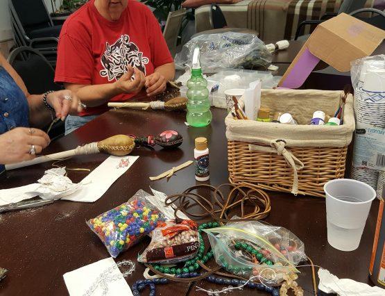 rattle making playshop