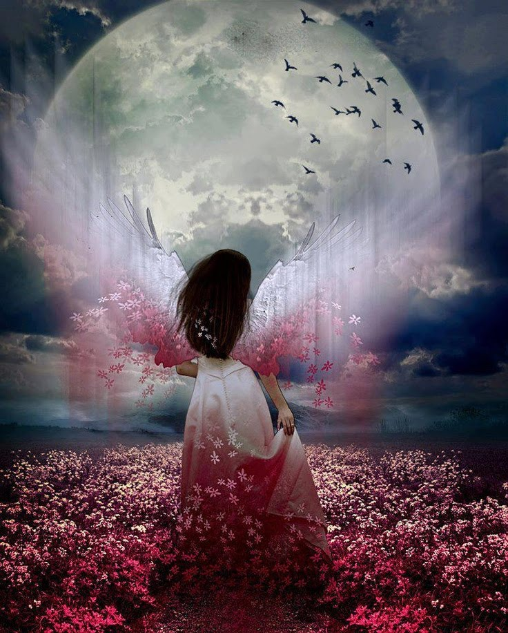 Pink Full Moon April 2019 - Mara Clear Spring - Shamanic Weather