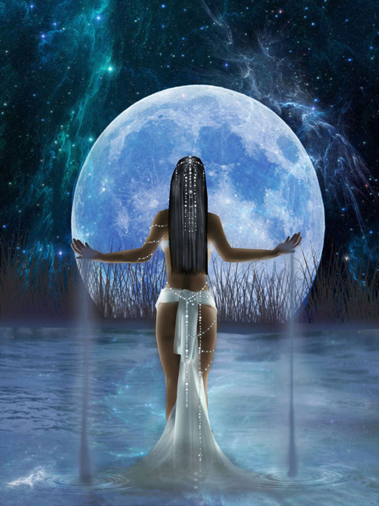 Full Blue Scorpio Moon - Mara Clear Spring - Shamanic Weather