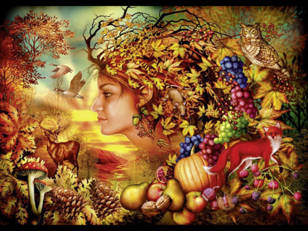 Magic of Mabon Spirit of Autumn by Ciro Marchetti