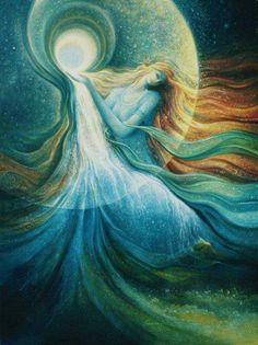 Aquarius Goddess Erratic Energy Full Leo Moon