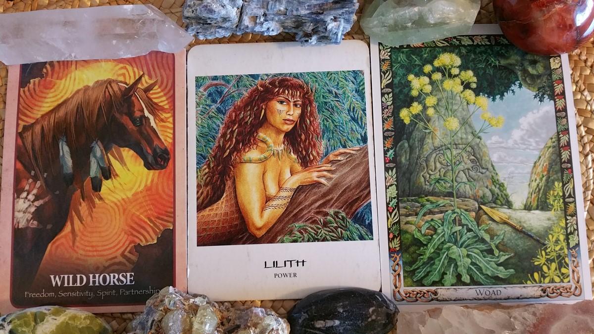 Oracle Card Check-Up Shamanic Goddess circle